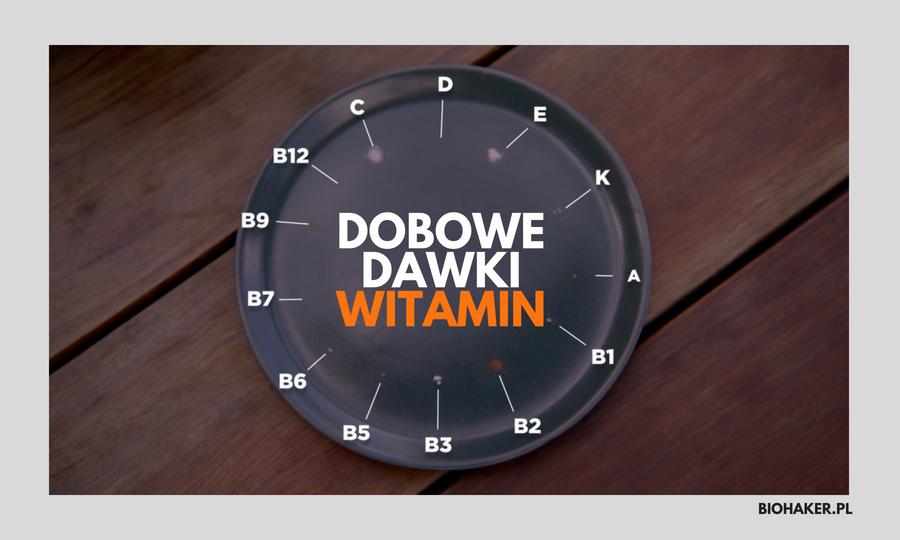 Dobowe dawki witamin