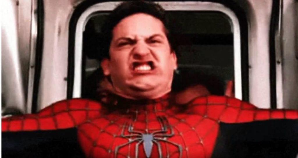 Spiderman rozwolnienie