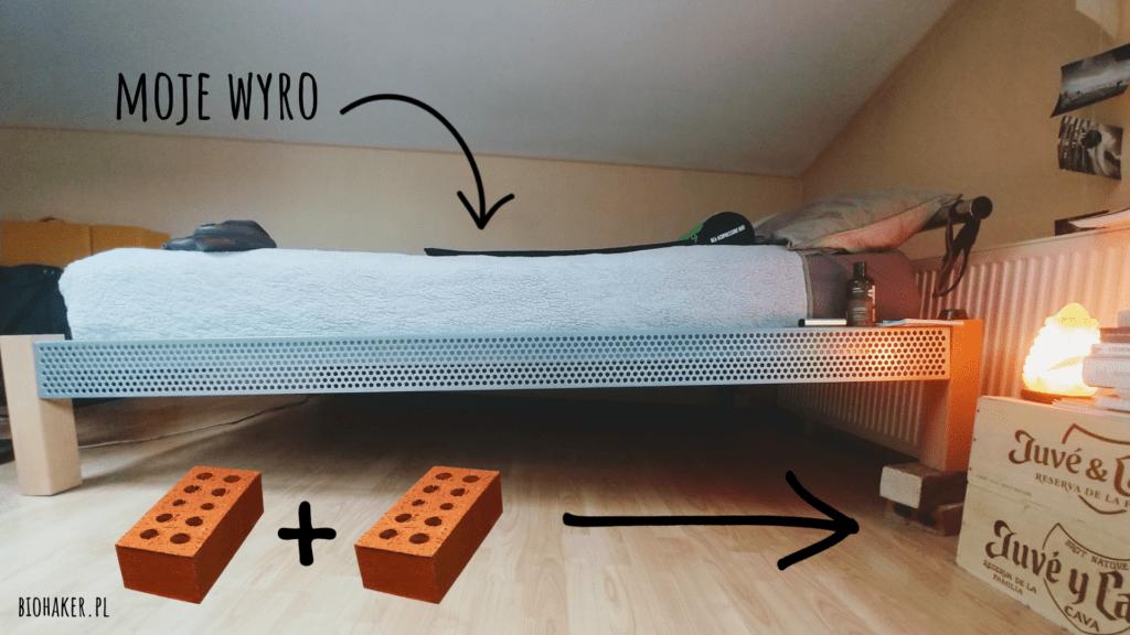 terapia pochylonego łóżka najlepsza na bezsenność