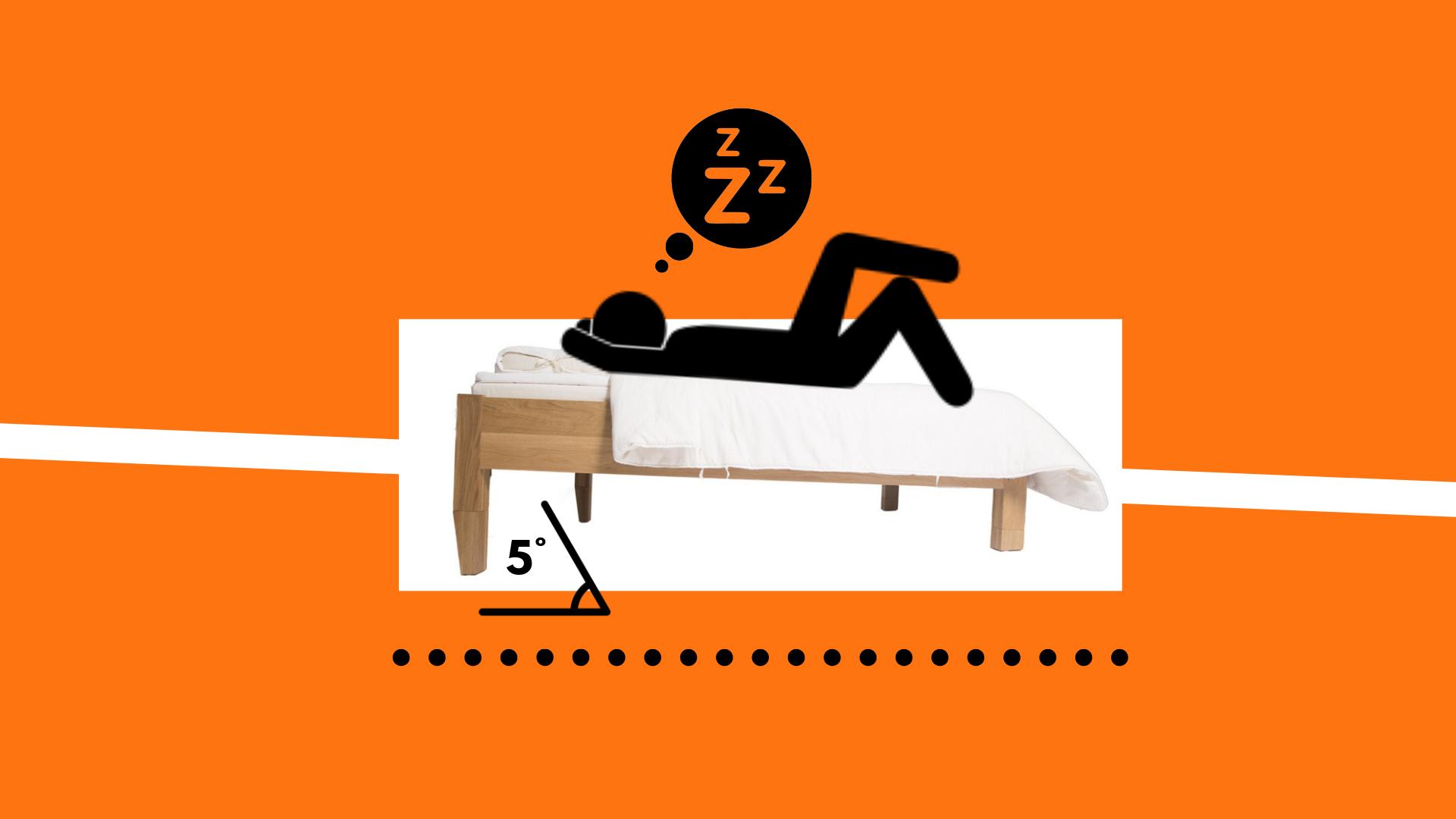 Sleephack Ultra Głęboki Sen A Terapia Pochylonego łóżka
