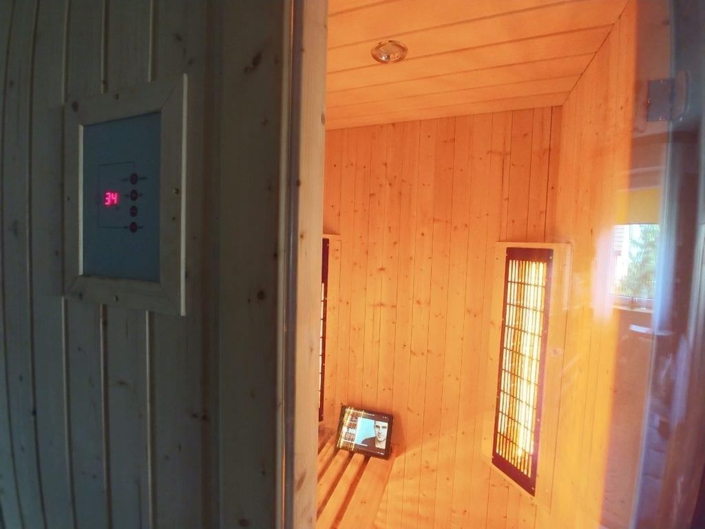 domowa sauna na podczerwień