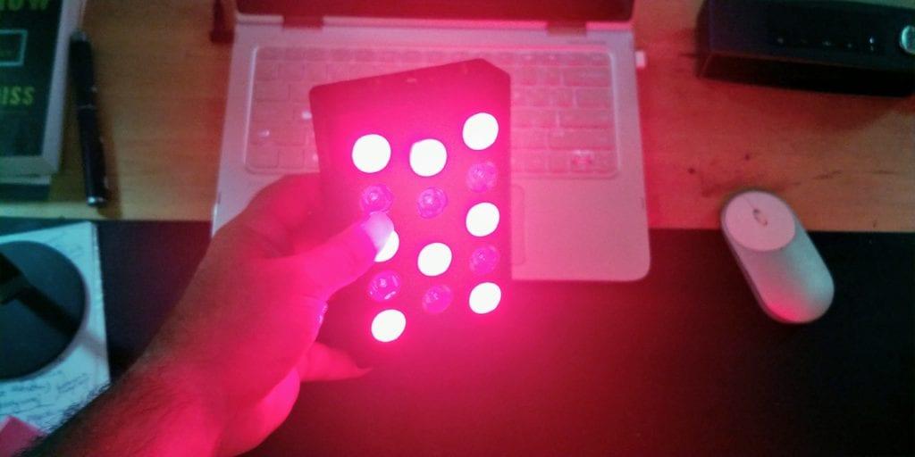 terapia czerwonym światłem