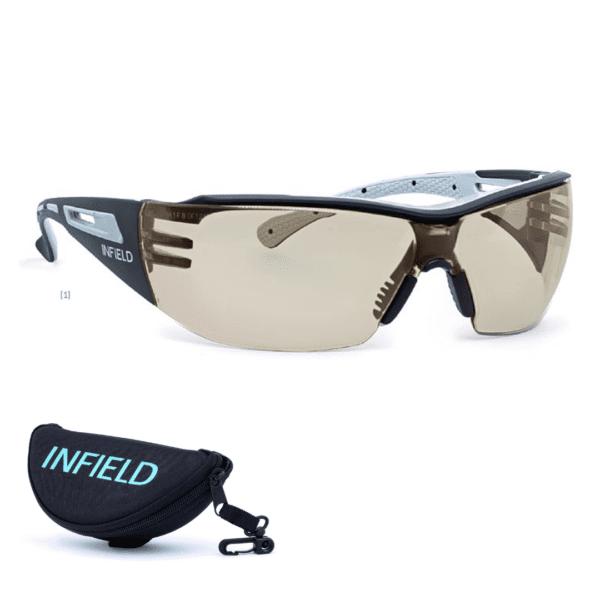 Infield okulary blokujące niebieskie swiatlo okulary do komputera