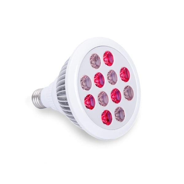 lampa z cerwonym światłem żarówka RLT