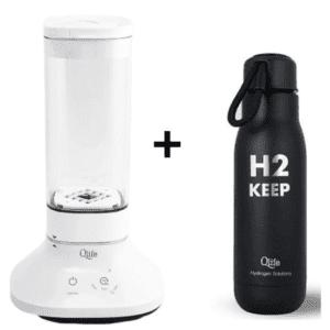 butelka generator wodoru H2 Qlife biohacking